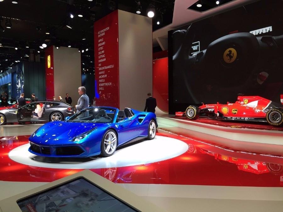 Ferrari in Genf