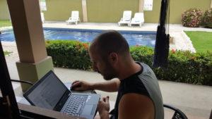 Immer fleißig - Bloggen in Costa Rica