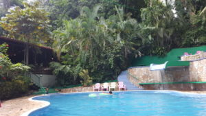 Hotel Pool in der Jungle Villa