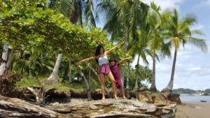 Playa dominicalito - Sara und Santiago