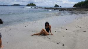 Sara am Playa Dantita