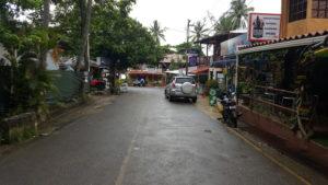 Shoppingmeile in Montezuma