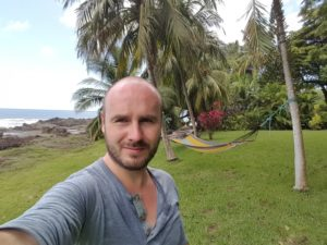 Vorgarten einer Montezuma Villa
