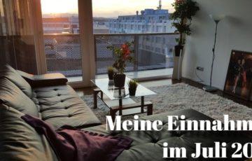 Einnahmen Juli 2018 - Immobilien Blog und P2P