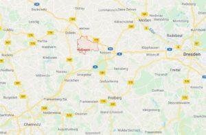 Roßwein in google maps