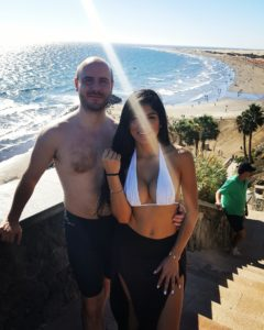 Alex und Sara Raue in Gran Canaria