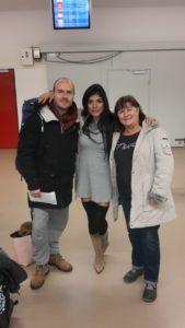 Flughafen Berlin Tegel mit Familie