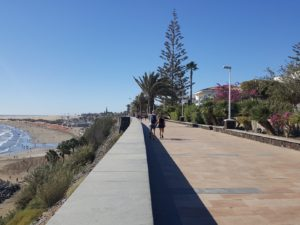 Promenade am Meer in Maspalomas