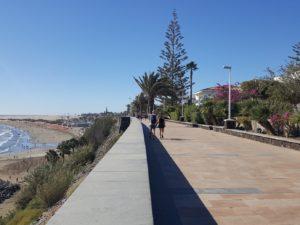 Promenade am Meer in Maspalomas