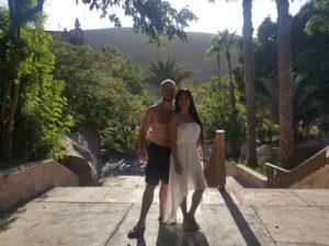 Sara und Alex im Aqualand
