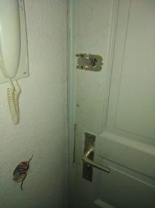 Zerstörte Wohnung