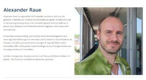 Profil von Alexander Raue als Speaker
