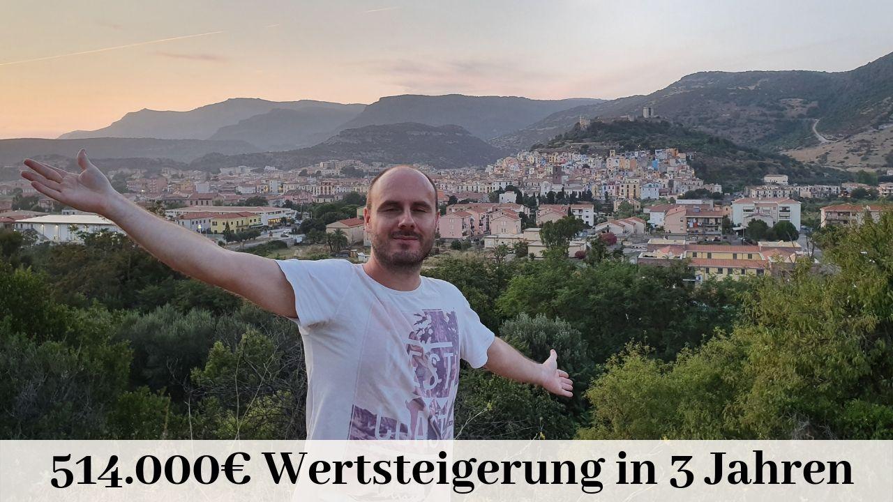 514.000€ Wertsteigerungin 3 Jahren