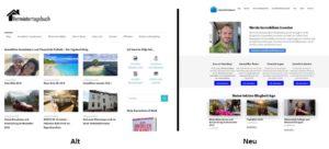 Blogdesign Änderung