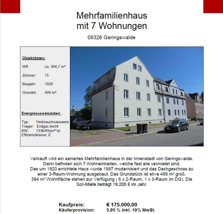 Expose MFH Geringswalde