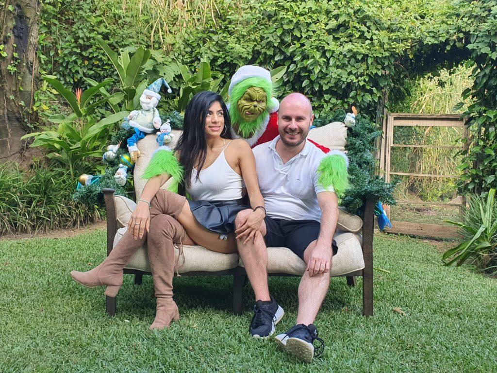 Weihnachten in Costa Rica mit dem Grinch